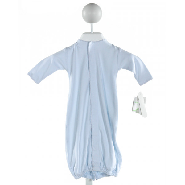 KISSY KISSY  LT BLUE   EMBROIDERED LAYETTE