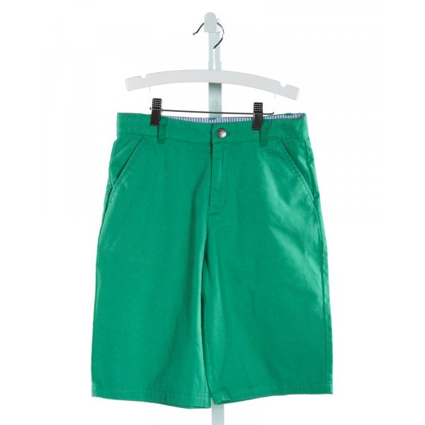 E-LAND  GREEN    SHORTS