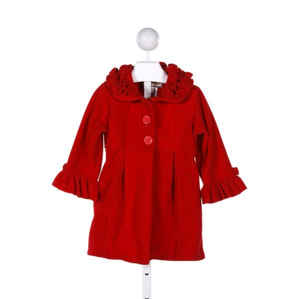 WIDGEON  RED    DRESSY OUTERWEAR WITH RUFFLE
