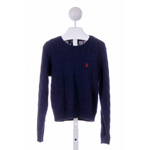 POLO BY RALPH LAUREN  NAVY    SWEATER
