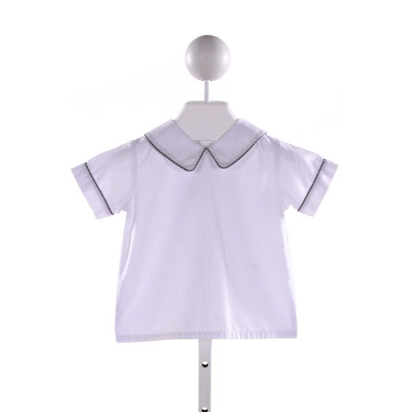 ZUCCINI  WHITE    CLOTH SS SHIRT