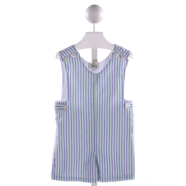 TENNILLE KIDS  MULTI-COLOR SEERSUCKER STRIPED  JOHN JOHN/ SHORTALL