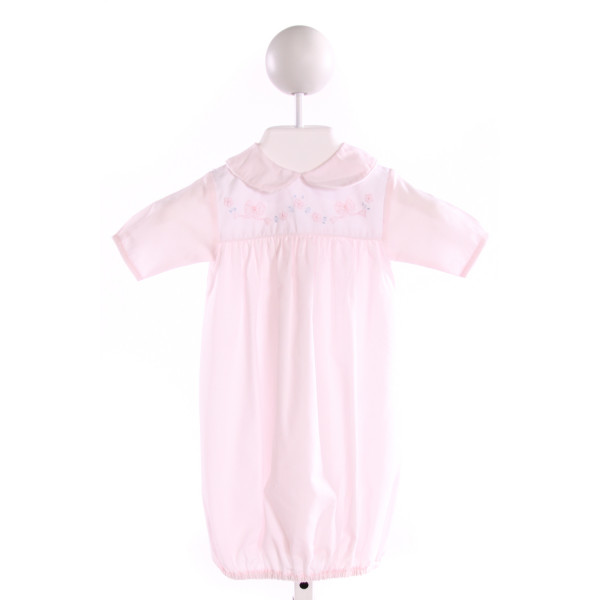 AURALUZ  LT PINK   EMBROIDERED LAYETTE
