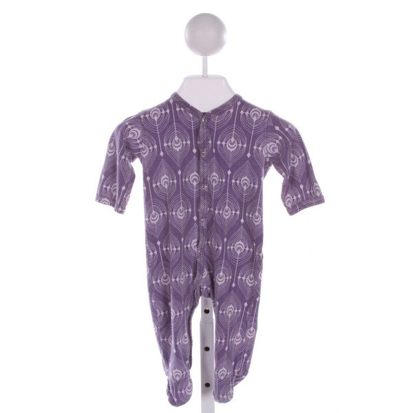 KATE QUINN  PURPLE   PRINTED DESIGN LAYETTE