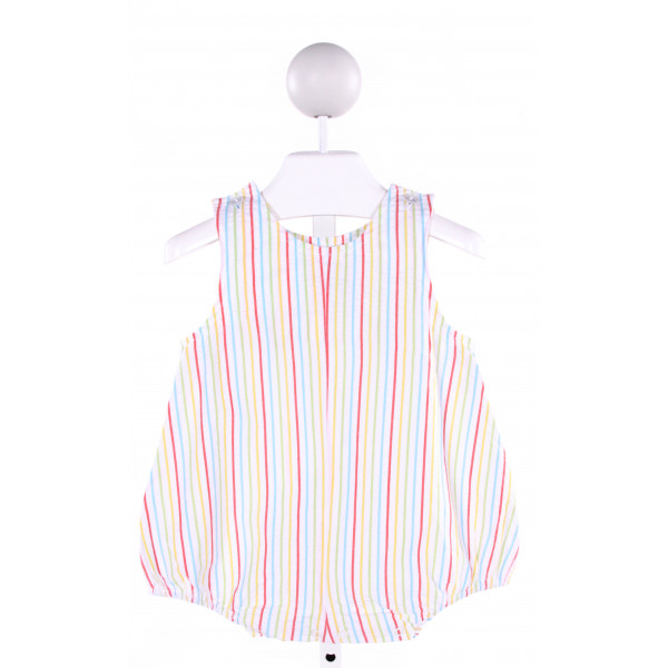 LULLABY SET  MULTI-COLOR SEERSUCKER STRIPED  BUBBLE