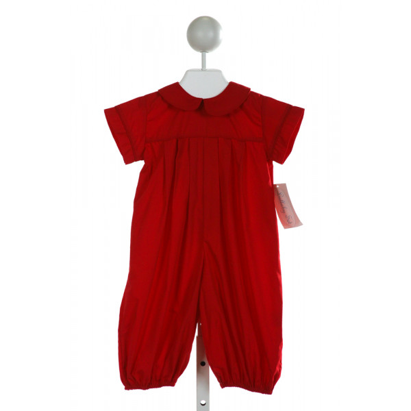 LULLABY SET  RED    LONGALL/ROMPER
