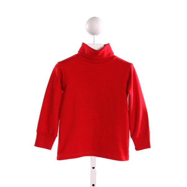 ZUCCINI  RED    KNIT LS SHIRT