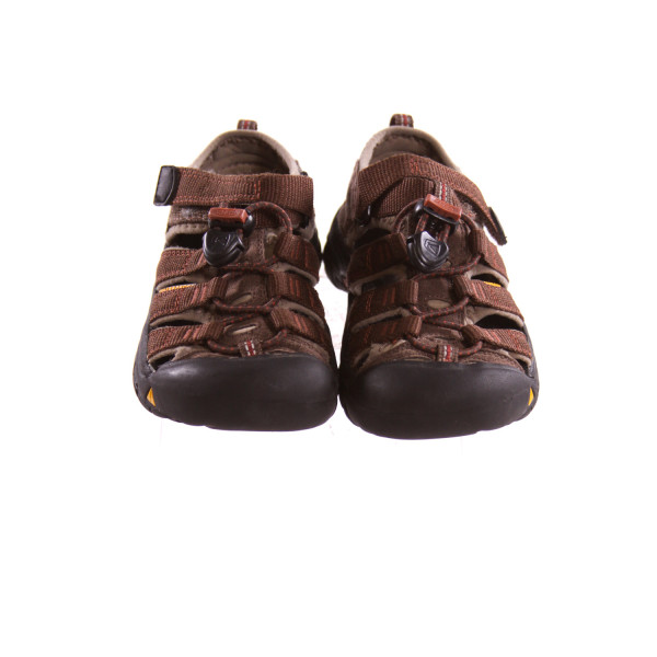 KEEN BROWN SHOES *SIZE 10, VGU - VERY SLIGHT SCUFFING