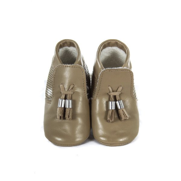 MAYORAL BROWN LEATHER SOFT SHOES TODDLER SIZE 3.5