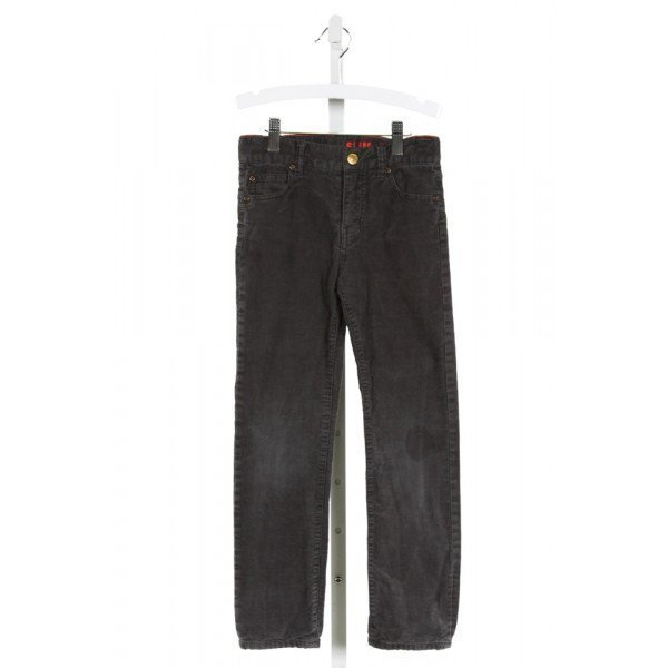 CREWCUTS  GRAY CORDUROY   PANTS
