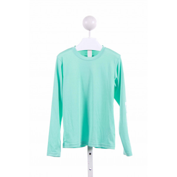 COLUMBIA  AQUA    KNIT LS SHIRT