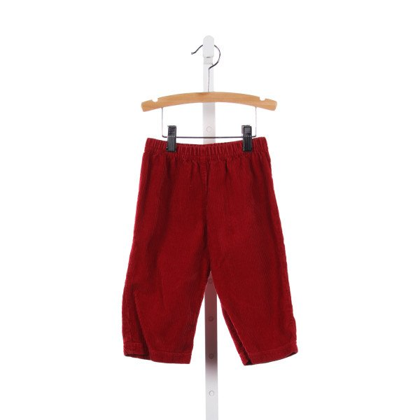 JAKE RED CORDUROY PANTS