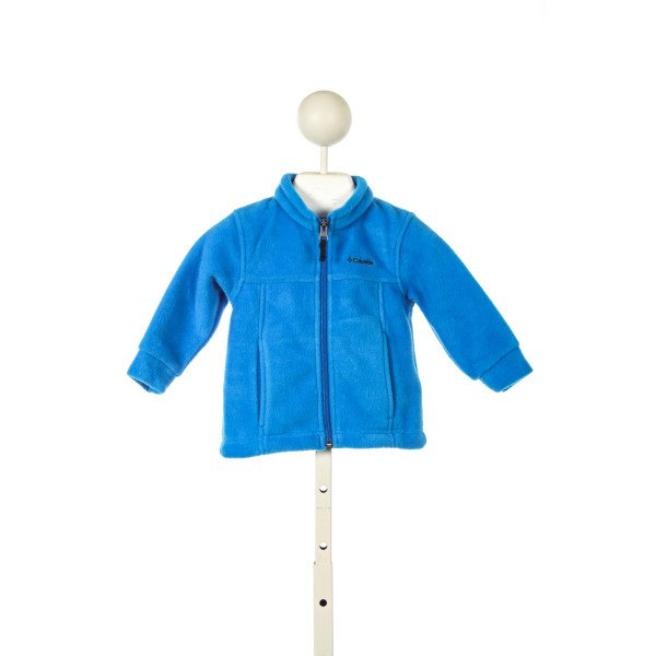 COLUMIA BLUE FLEECE JACKET *SIZE 6-12M