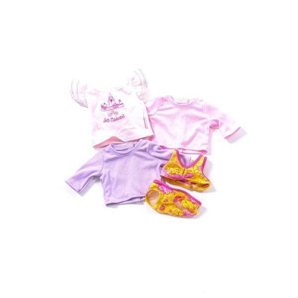 AMERICAN GIRL 3 TOPS AND SWIMSUIT