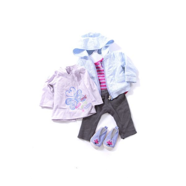 AMERICAN GIRL TUNIC AND OUTFIT WITH SHOES