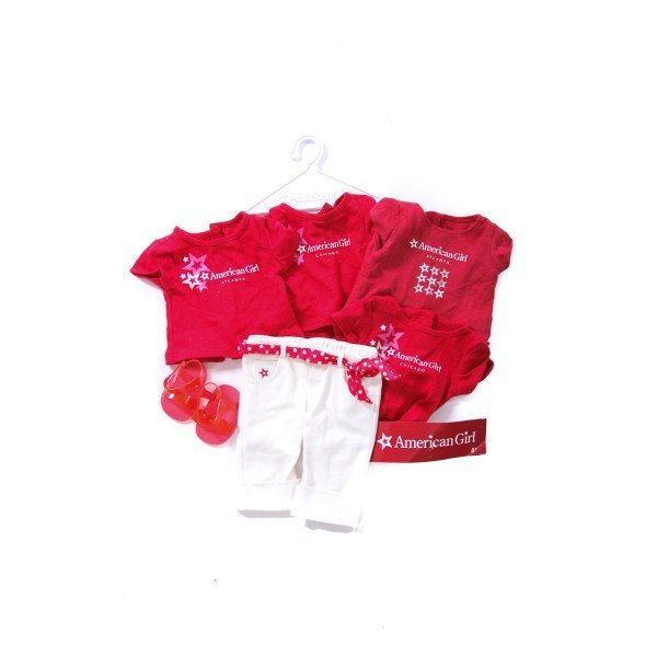 AMERICAN GIRL CAFE SHIRTS AND PANTS
