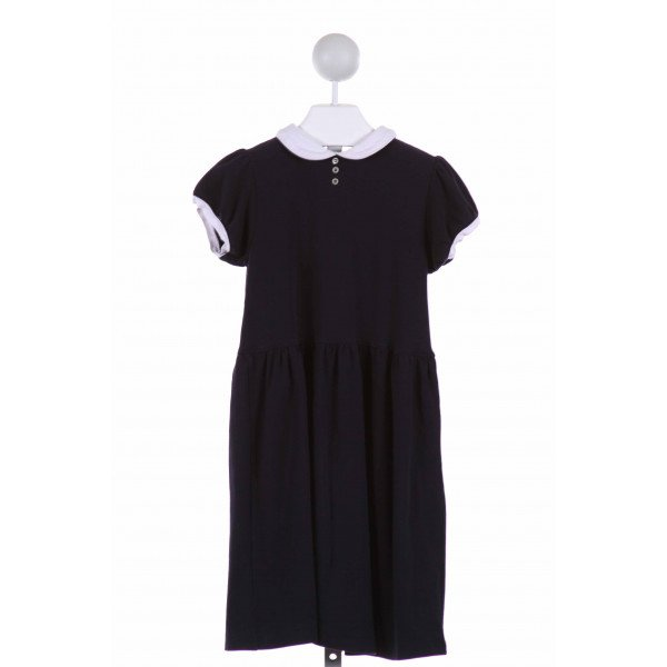 OLIVE JUICE  NAVY    DRESS WITH RUFFLE