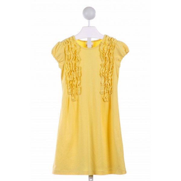 HANNA ANDERSSON  YELLOW    DRESS WITH RUFFLE