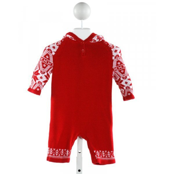 HANNA ANDERSSON  RED   PRINTED DESIGN LAYETTE