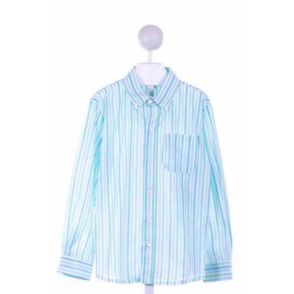 ALICE KATHLEEN  BLUE    CLOTH LS SHIRT