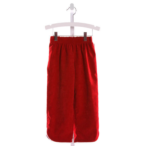 ALICE KATHLEEN  RED CORDUROY   PANTS