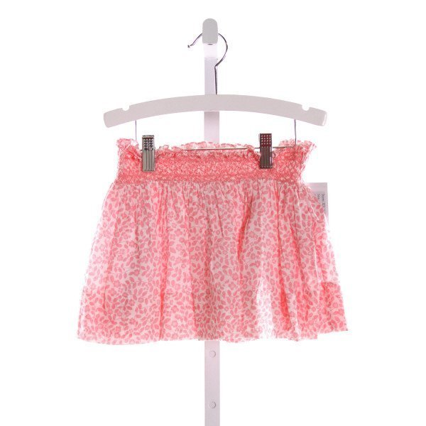 ALICE KATHLEEN  LT PINK  SWISS DOT  SKIRT