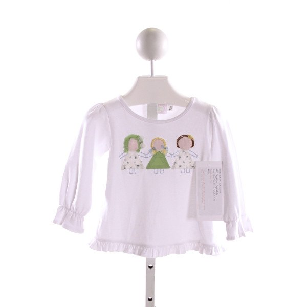 ALICE KATHLEEN  WHITE    CLOTH LS SHIRT