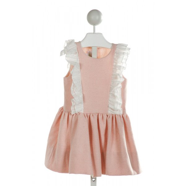 ALICE KATHLEEN  PINK    DRESS WITH RUFFLE