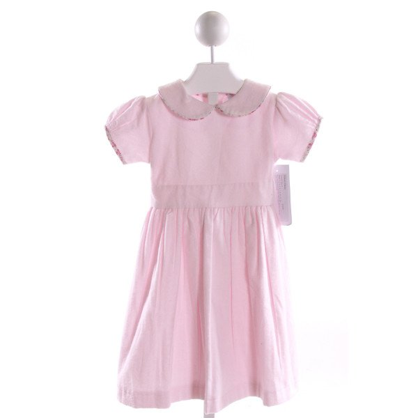 RED BEANS  LT PINK FLANNEL   DRESS