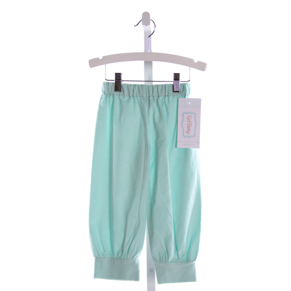 RED BEANS  AQUA CORDUROY   PANTS