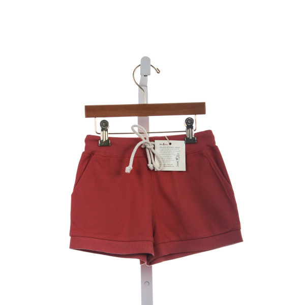 OLIVE JUICE BURNT ORANGE KNIT SHORTS *NWT