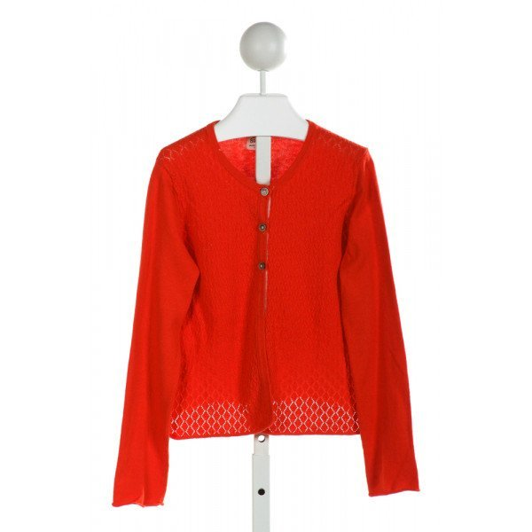 MINI BODEN  RED    CARDIGAN