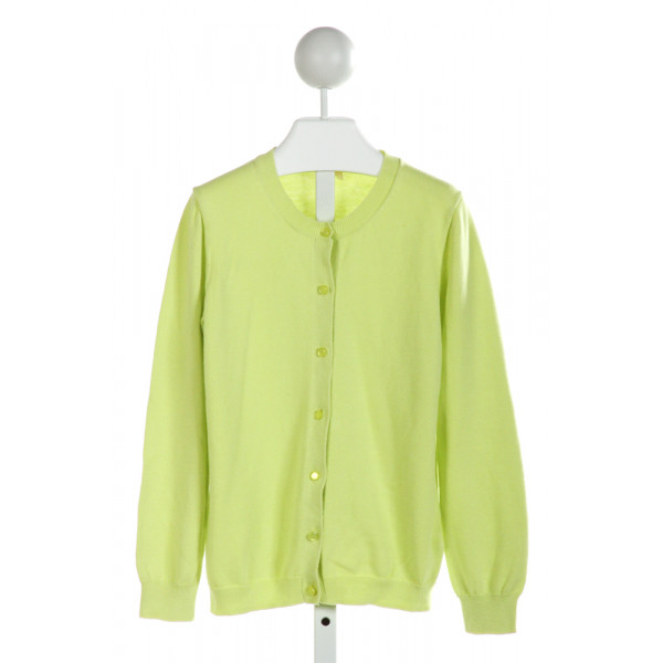 CREWCUTS FACTORY  LT GREEN    CARDIGAN