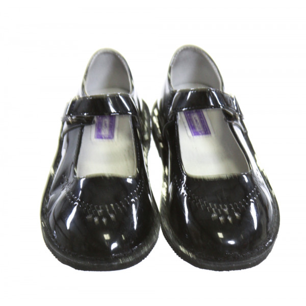 L'AMOUR SHINY BLACK SHOES *SIZE 13, VGU - A COUPLE TINY SCUFFS