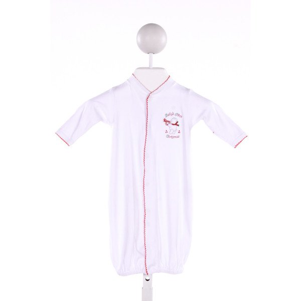 KISSY KISSY  WHITE   EMBROIDERED LAYETTE WITH PICOT STITCHING
