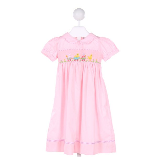 SMOCKINGBIRD  LT PINK   SMOCKED DRESS