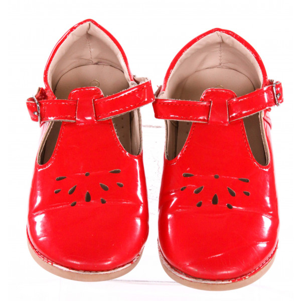 THE DOLL MAKER RED SHOES *SIZE 10, VGU - MINOR SCUFFING
