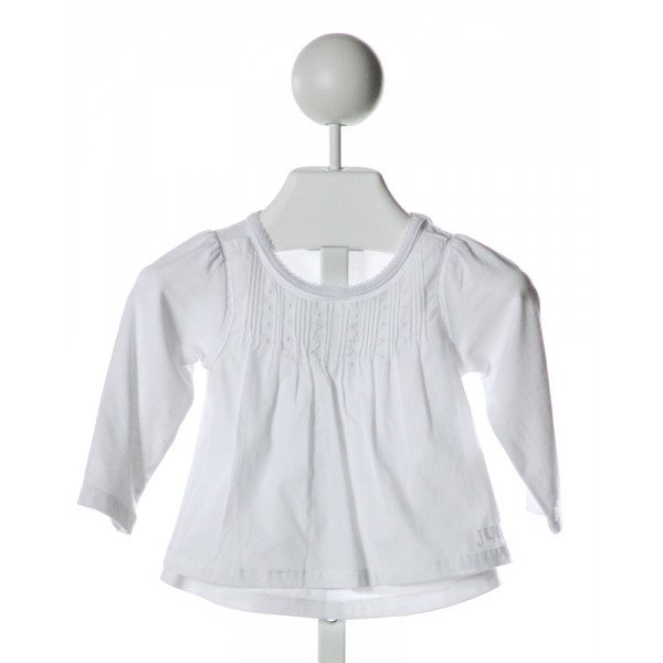 JUICY COUTURE  WHITE    CLOTH LS SHIRT