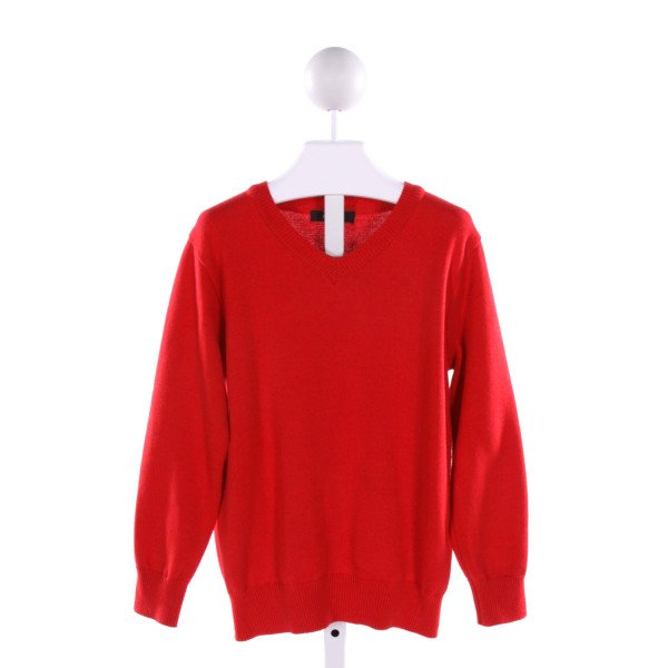 E-LAND  RED    SWEATER