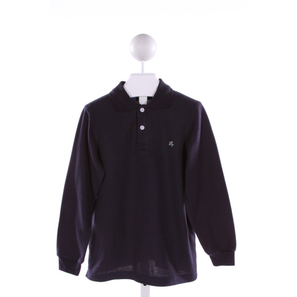 J. BAILEY  NAVY    CLOTH LS SHIRT