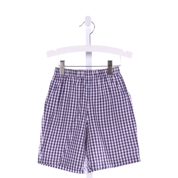 BELLA BLISS  BLUE  GINGHAM  SHORTS