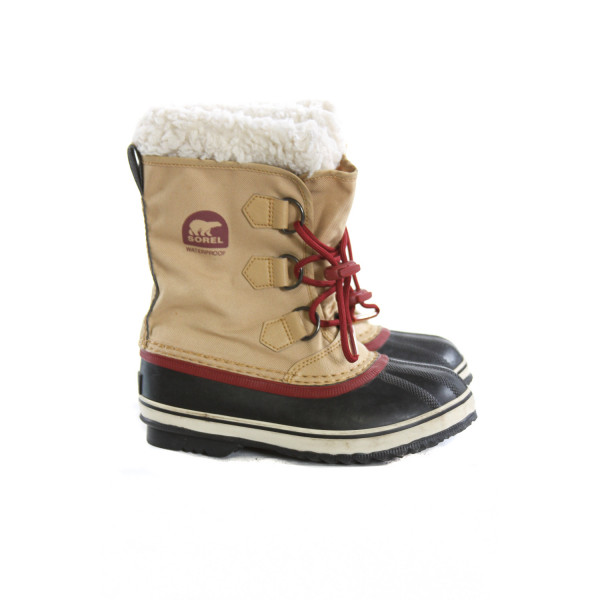 SOREL BROWN BOOTS *SIZE 2, VGU - VERY LIGHT WEAR