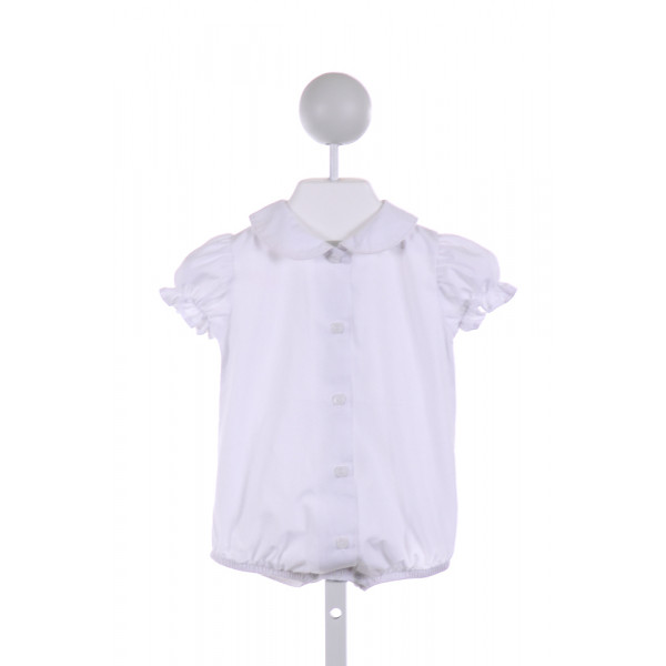 BAILEY BOYS  WHITE    BUBBLE WITH RUFFLE
