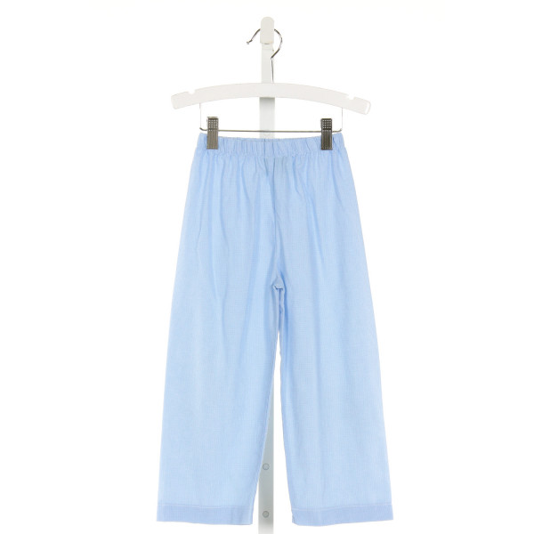 SAGE & LILLY  BLUE  MICROCHECK  PANTS
