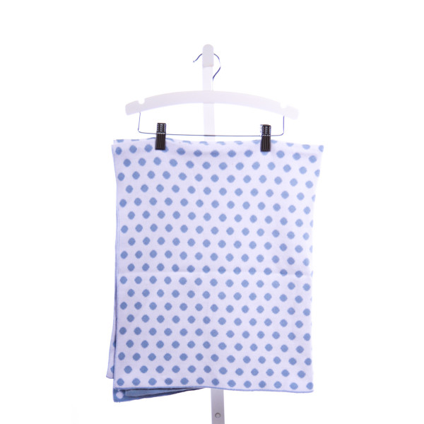 MUD PIE  BLUE  POLKA DOT  BLANKET