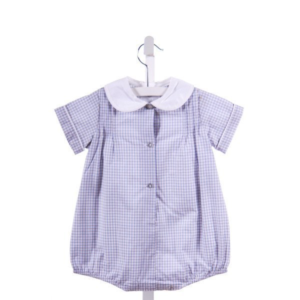 HOLLYWOOD BABY  BLUE  GINGHAM  BUBBLE