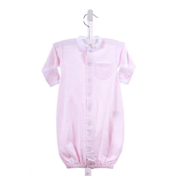 KISSY KISSY  PINK  STRIPED  LAYETTE