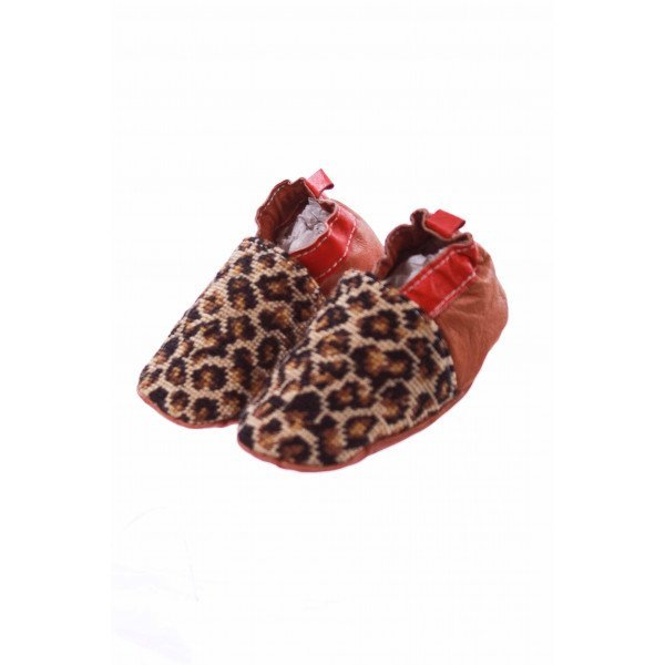 BELLA CHES LEOPARD SHOES *SIZE 6-12 MONTHS