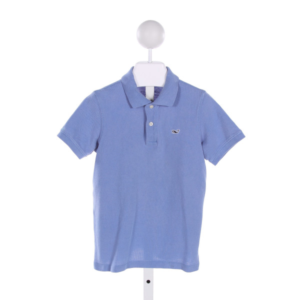 VINEYARD VINES  LT BLUE    CLOTH SS SHIRT
