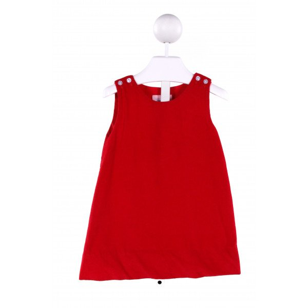 LULLABY SET  RED CORDUROY   DRESS